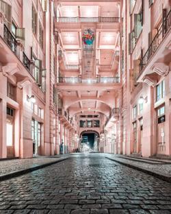 Hotel Majestic / Casa de Cultura Mario Quintana, da autoria de Gabriel Guerra Konrath (Brasil) // Imagem Vencedora na Categoria Estudantes de Arquitectura